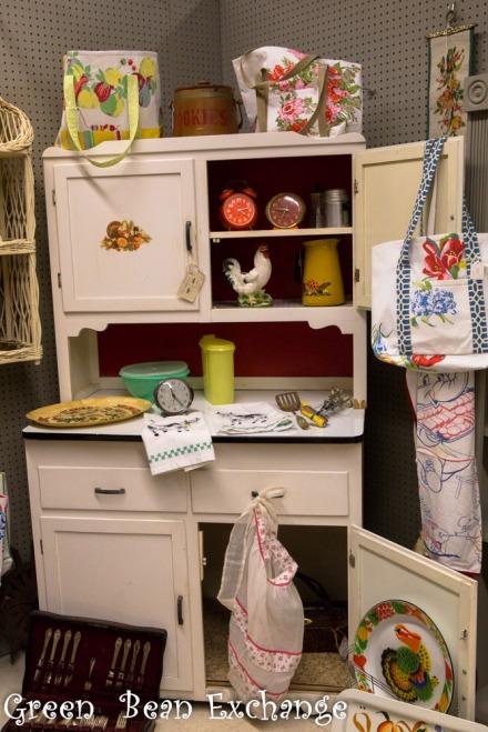 Cute Hoosier Cabinet in The CUmming, GA Green Bean Booth